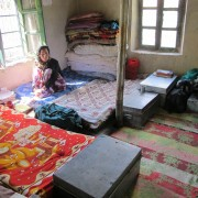 Inside the girls hostel Spiti