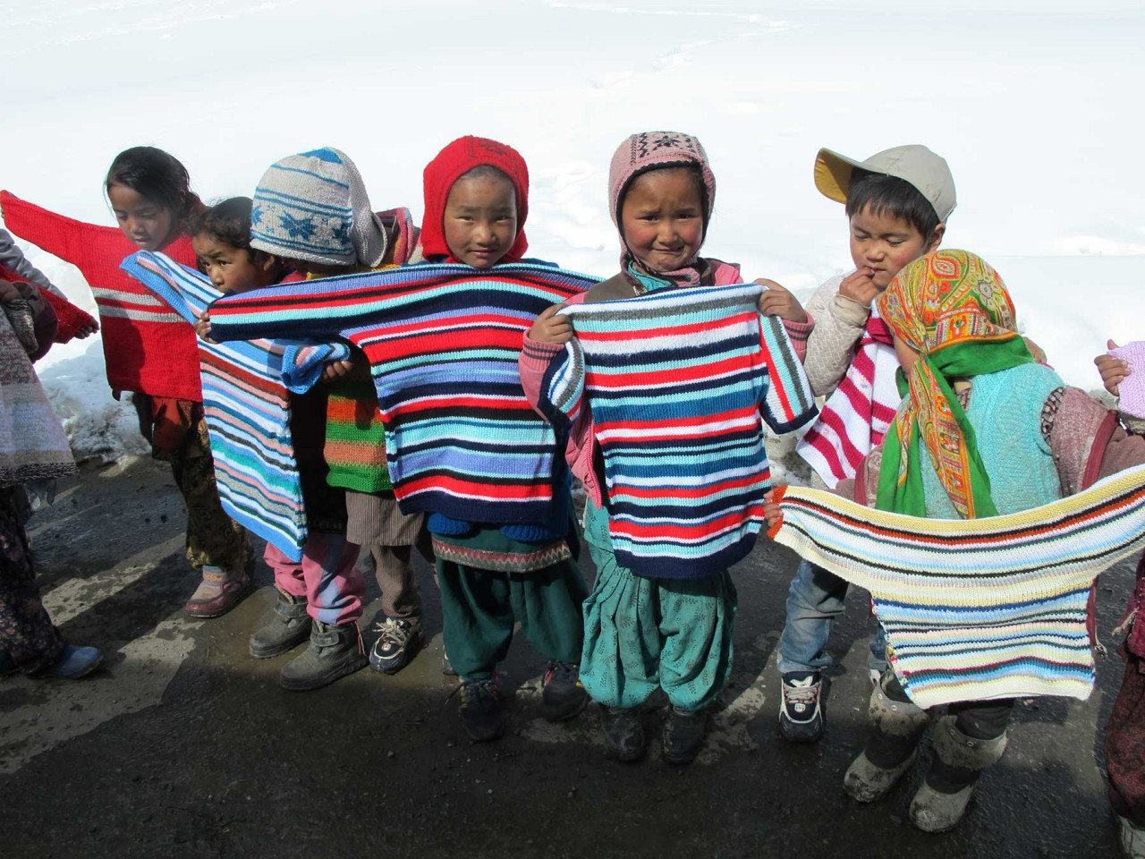 Knit for Spiti 2014