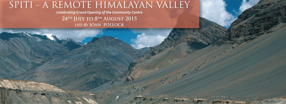 Visit the Spiti Valley