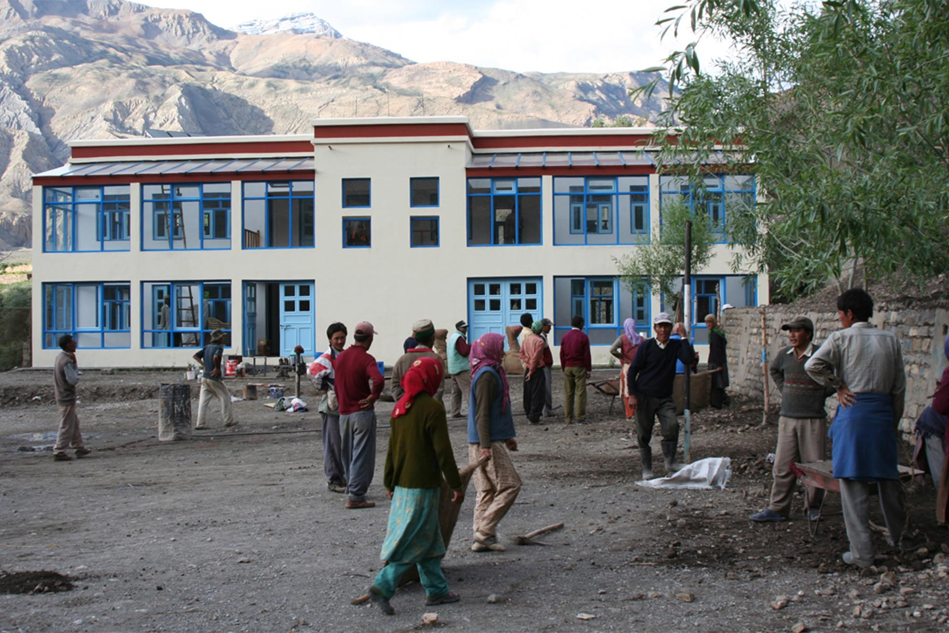 Mane village school preparing to open on July 15th